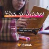 Vení a integrar el Club de Lectores/as platenses en el Palacio López Merino